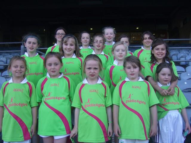 Gaelic for Girls in Croke Park Monday 30th June 2014