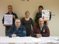 Martin & Seamus sign up to donate..JPG