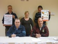 Martin & Seamus sign up to donate..JPG