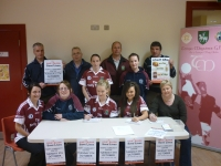 Tempo GAC & Community Centre Members launch joint blood drive 2010.JPG